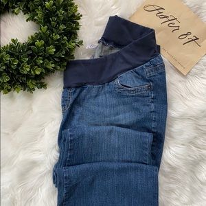 Two Hearts Maternity Denim Jeans